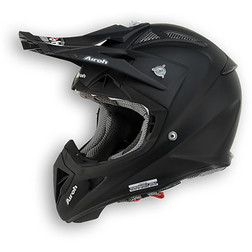 Casco moto Cross Enduro Airoh Aviator 2.1 Color Nero Opaco Airoh