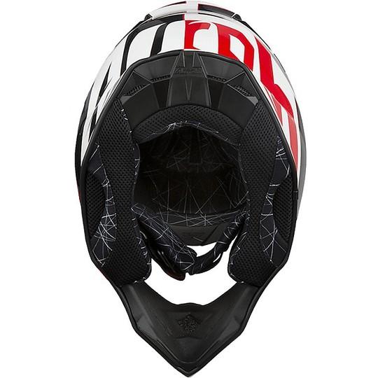 Casco Moto Cross Enduro Airoh Twist SHADING Rosso Lucido