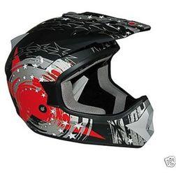 Casco Moto Cross Enduro One Racing  Falcon Nero Rosso One