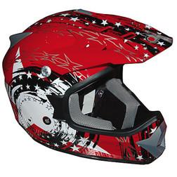 Casco Moto Cross Enduro One Racing  Falcon Rosso One