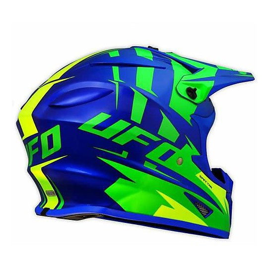 Casco Moto Cross Enduro Ufo Spectra Solidus