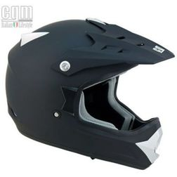 Casco Moto Cross Supermotard Cgm 603A Condor Nero Opaco Cgm