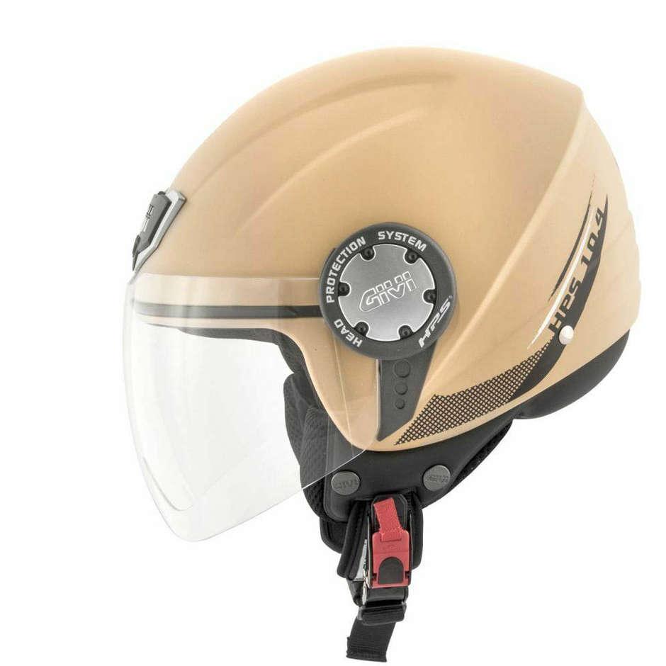 Casco Moto Demi-Jet Givi 10.4 Solid Sabbia