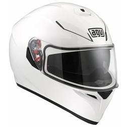 Casco Moto Inetgrale AGV K-3 SV Doppia Visiera Mono Bianco Lucdio Agv
