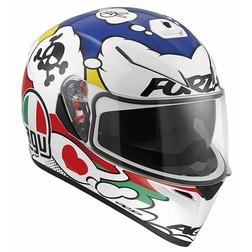 Casco Moto Inetgrale AGV K-3 SV Doppia Visiera Multi Comic Bianco Agv