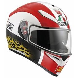 Casco Moto Inetgrale AGV K-3 SV Doppia Visiera Replica MARCO SIMONCELLI Agv