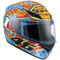 Casco Moto Integrale AGV K-3 Top Valentino Mugello 2001 Agv