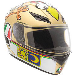 Casco Moto Integrale AGV K-3 Top Valentino The Chicken Agv