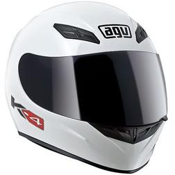 Casco Moto Integrale AGV Modello K-4 Mono Bianco Lucido Agv
