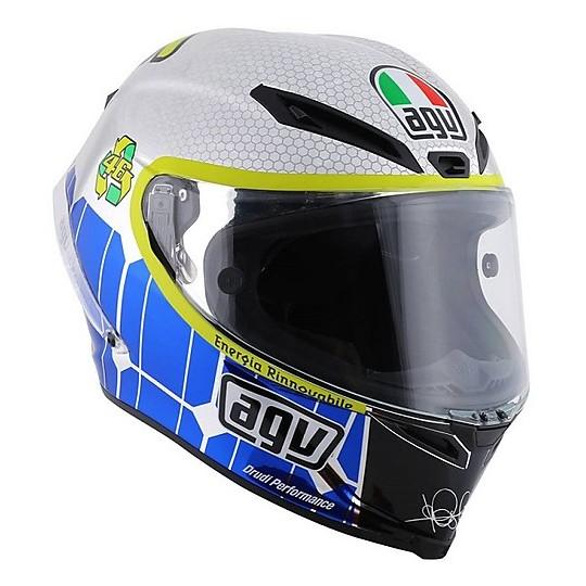 Casco Moto Integrale AGV Pista GP Mugello 2015 Replica Valentino Rossi L.E.