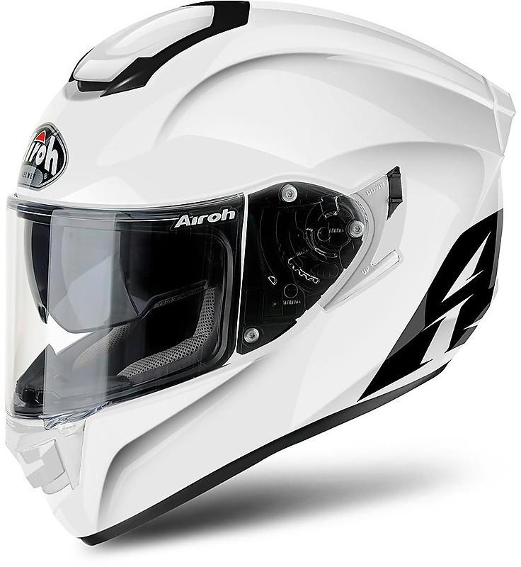Bianco XL Airoh Open Face Casco