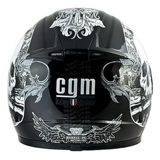 Casco Moto Integrale CGM 302S Manitoba Nero Metal