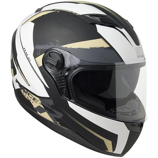 Casco Moto Integrale CGM 308X Atlanta Nero Sabbia Opaco