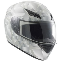 Casco Moto Integrale Diesel Full-Jack Multi Prysm Bianco Agv