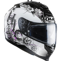 Casco Moto integrale HJC IS17 Doppia Visiera Barbwire MC31 Hjc
