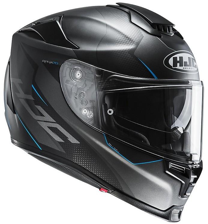 XS Casco moto HJC C70 VALON MC2SF Blu//Bianco