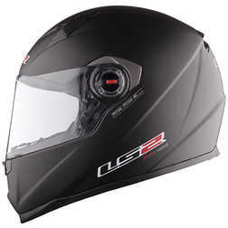 "Casco Moto Integrale LS"" FF358 Air Pump Concept Nero Opaco Ls2"