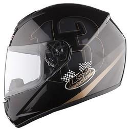 Casco moto Integrale LS2 FF351.93 Poker Nero Lucido Ls2