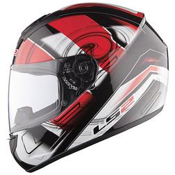 Casco Moto Integrale Ls2 FF351 Action Rosso Ls2