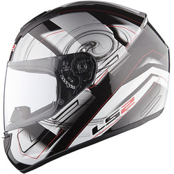 Casco Moto Integrale Ls2 FF351 Action Silver Ls2
