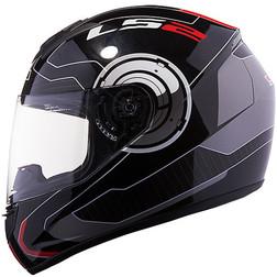 Casco Moto Integrale Ls2 FF351 Atmos Nero-Rosso Ls2