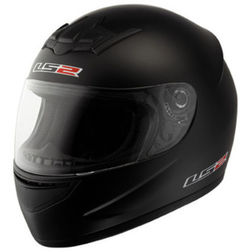 Casco Moto Integrale Ls2 FF351 Single Mono Nero Opaco Ls2