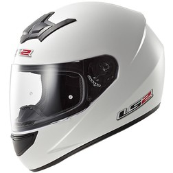 Casco Moto Integrale LS2 FF352 Rookie Solid Bianco Ls2