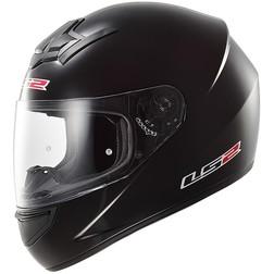 Casco Moto Integrale LS2 FF352 Rookie Solid Nero Lucido Ls2