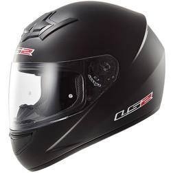 Casco Moto Integrale LS2 FF352 Rookie Solid Nero Opaco Ls2