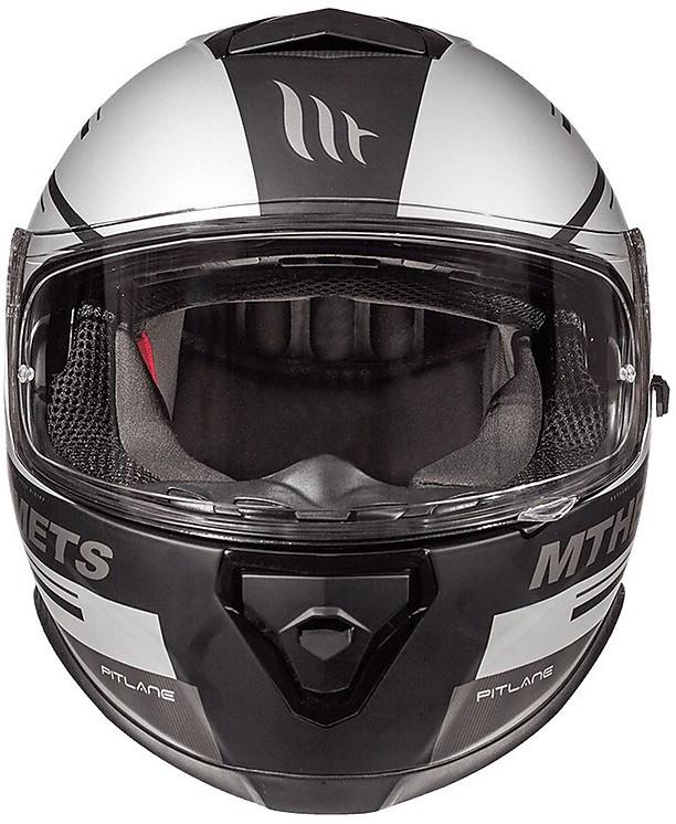 casco MT Thunder 3/SV vlinder B2/Grigio Opaco XS grigio opaco