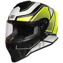 Casco Moto Integrali HJC 12377106 IS-17 Daugava Giallo