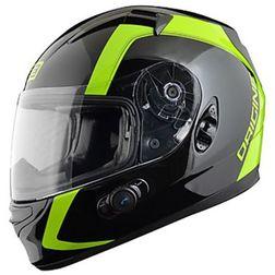 Casco Moto Integrale Origine Vento 2.0 Doppia Visiera Con Bluetooth Integrato Spline Verde Origine
