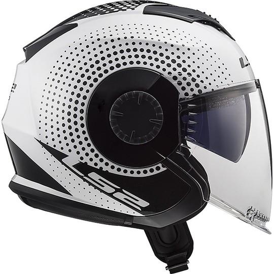Caschi Moto Verso Bianco LS2