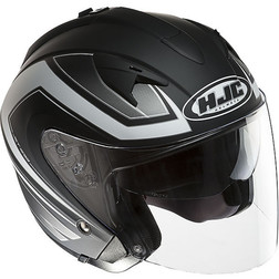 Casco Moto Jet HJC IS33 Doppia Combi MC5F Hjc