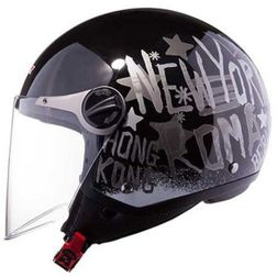 Casco moto jet LS2 OF560 City Black Ls2