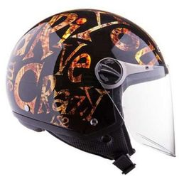 Casco moto jet LS2 OF560 Crazy Gold Ls2