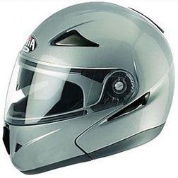 Casco Moto Modulare Airoh Sv55 doppia Visiera Silver Lucido Airoh