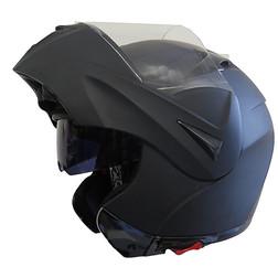 Casco Moto Modulare Apribile BHR 705 Sport Doppia Visiera Nero Opaco Bhr