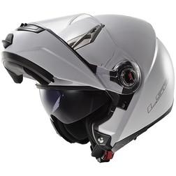 Casco Moto Modulare Apribile  Ls2 FF370 Easy Bianco Lucido Doppia Visiera Ls2