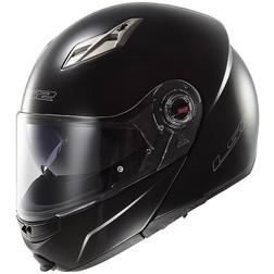 Casco Moto Modulare Apribile  Ls2 FF370 Easy  Nero Lucido Doppia Visiera Ls2