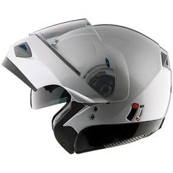 Casco Moto Modulare Apribile Vemar Jiano Doppia Visiera Silver  Vemar