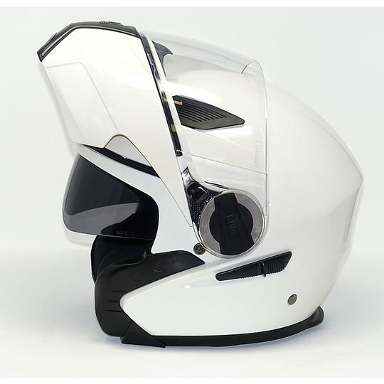 Casco Moto Modulare CGM 505 New Singapore Bianco Lucido
