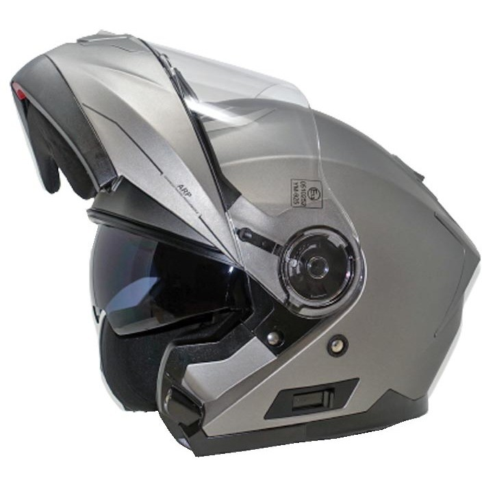 Casco Moto Modulare CGM 506A Osaka Titanio Opaco
