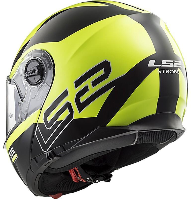 LS2 Caschi Moto Strobe Nero