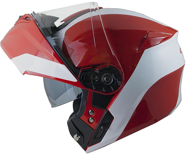 Casco Moto Modulare Omologazione PJ CGM 508s BERLINO Rosso