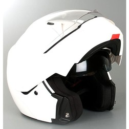 Casco Moto Modulare Origine Riviera Doppia Visiera Bianco Lucido Origine