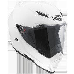 Casco moto off-road Agv AX-8 Evo Naked bianco Agv
