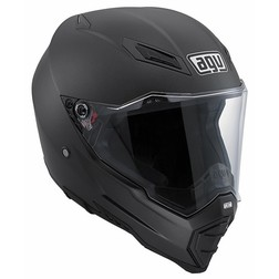 Casco moto off-road Agv AX-8 Evo Naked Nero Opaco Agv