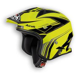 Casco moto Trial off road Airoh TRR Dapper Giallo Airoh