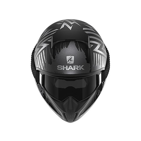 Casque de moto intégral Shark VANCORE 2 OverNight Mat Matt Black